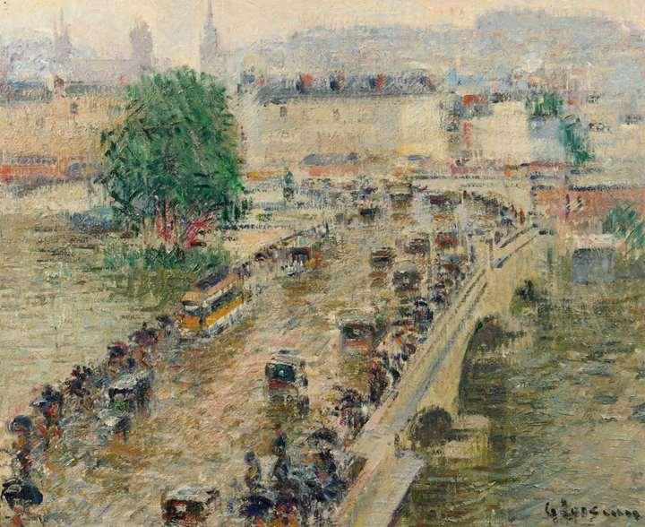 Le Pont Corneille à Rouen