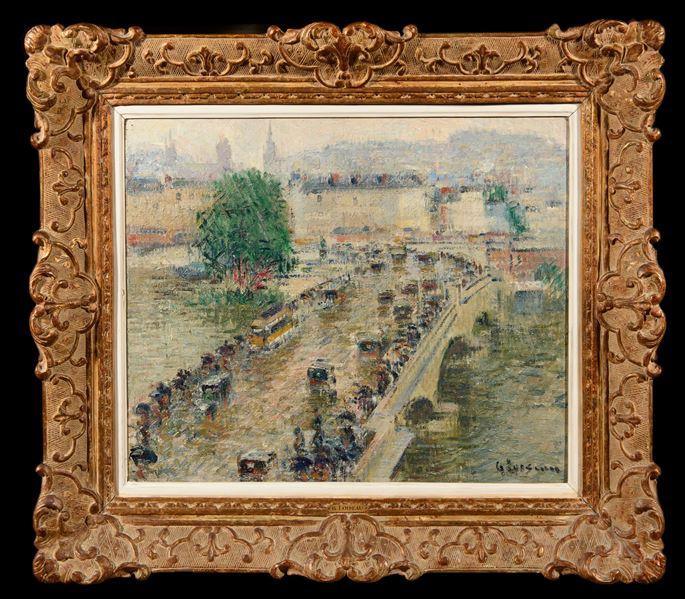 Gustave Loiseau - Le Pont Corneille à Rouen | MasterArt