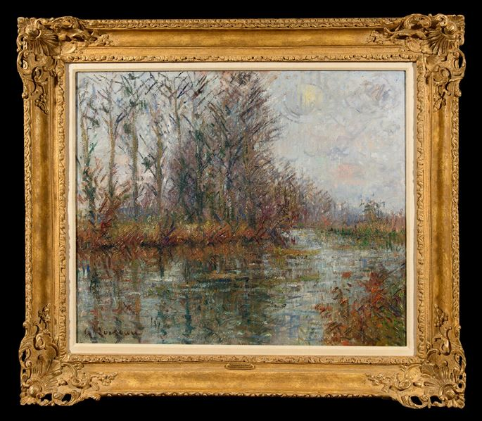 Gustave Loiseau - Tournant de Rivière, L'Eure   MasterArt