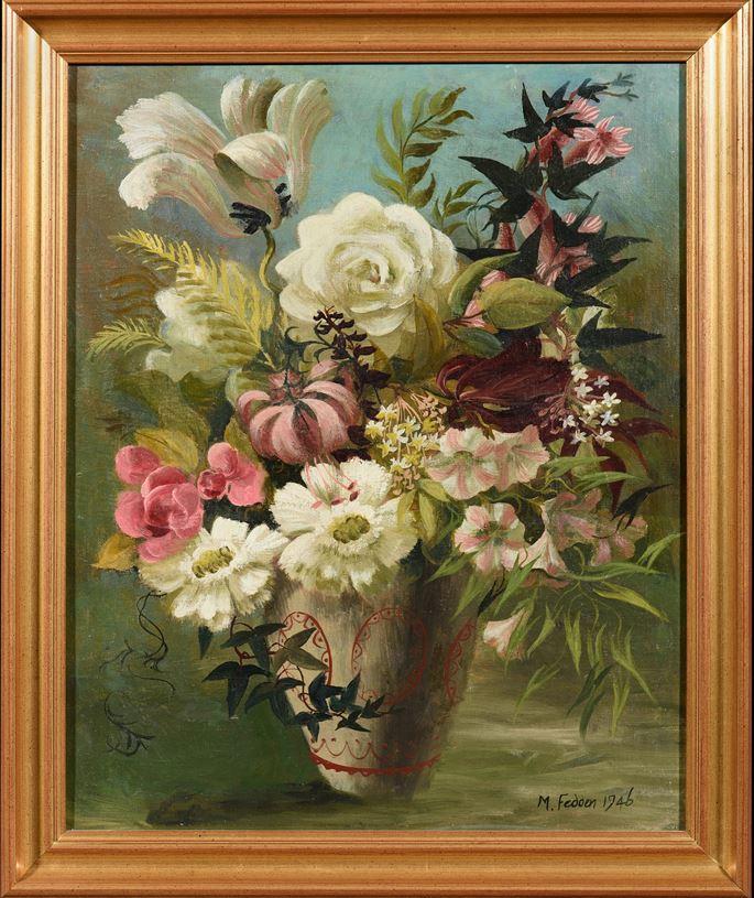 Mary Fedden - Floral Still Life | MasterArt