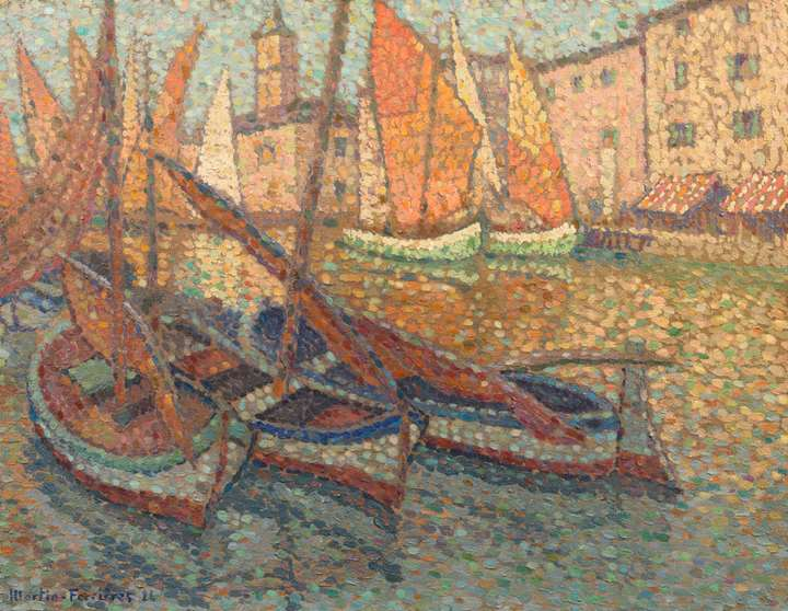 Barques dans le port