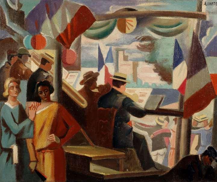 14 Julliet en Avignon