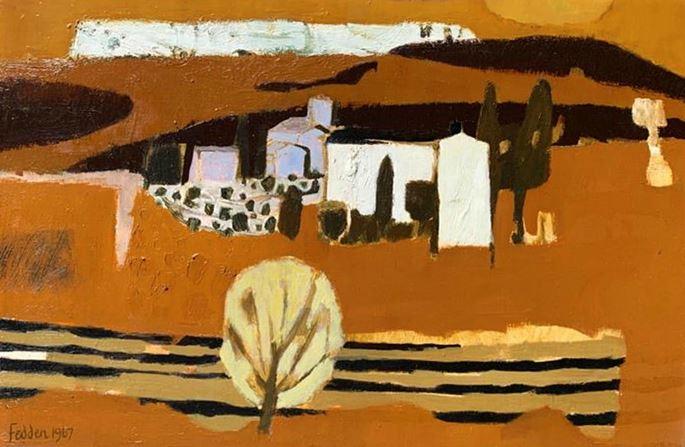 Mary Fedden - Florentine Landscape | MasterArt