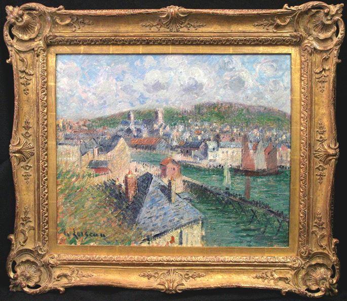 Gustave Loiseau - L'avant Port de Fécamp (Normandie)   MasterArt