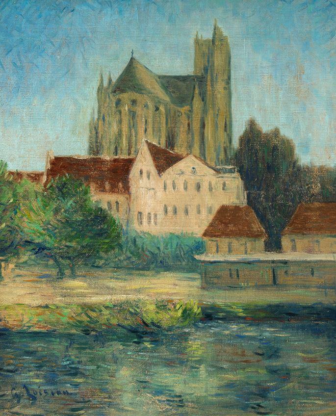 Gustave Loiseau - La Cathédrale d'Auxerre | MasterArt