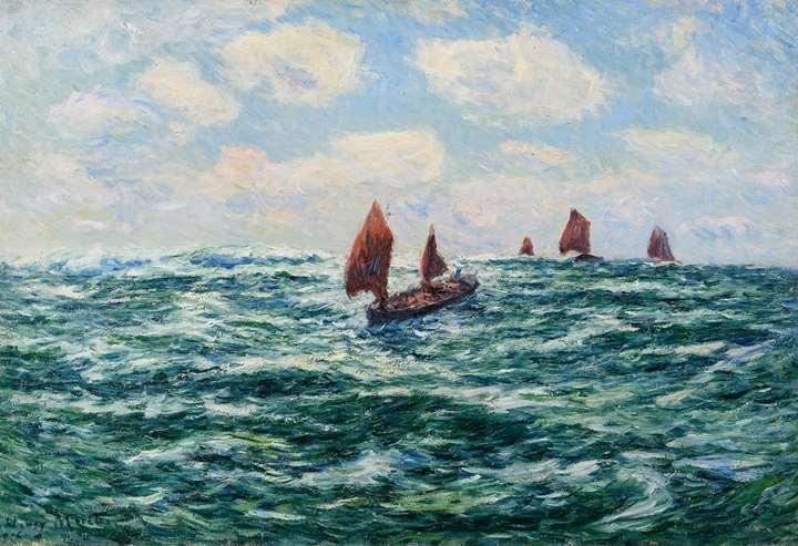 Bateaux de pêche, Audierne