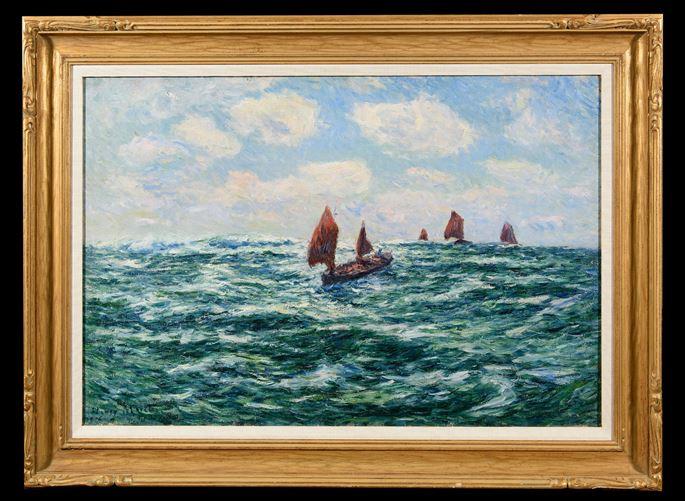 Henry Moret - Bateaux de pêche, Audierne | MasterArt