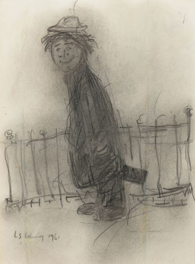 Laurence Stephen Lowry  - The Grinning Tramp | MasterArt