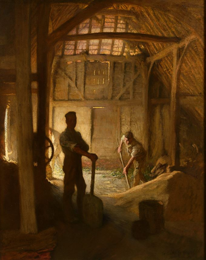 George Clausen - The Old Barn | MasterArt