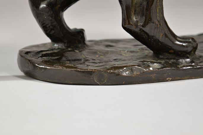 Georges GUYOT - PANTHÈRE  tête levée (1934) | MasterArt