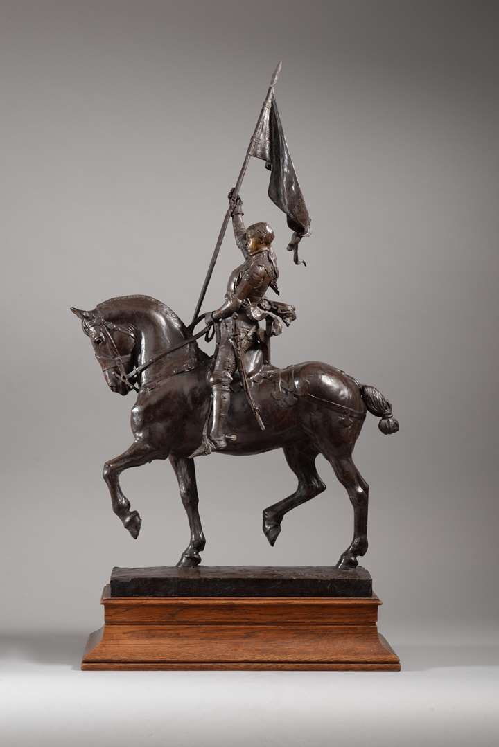 JEANNE D'ARC ÉQUESTRE  (1ère Version) (1874)