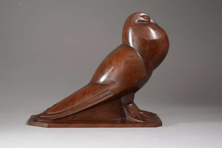 PIGEON A QUEUE PLATE (1925)