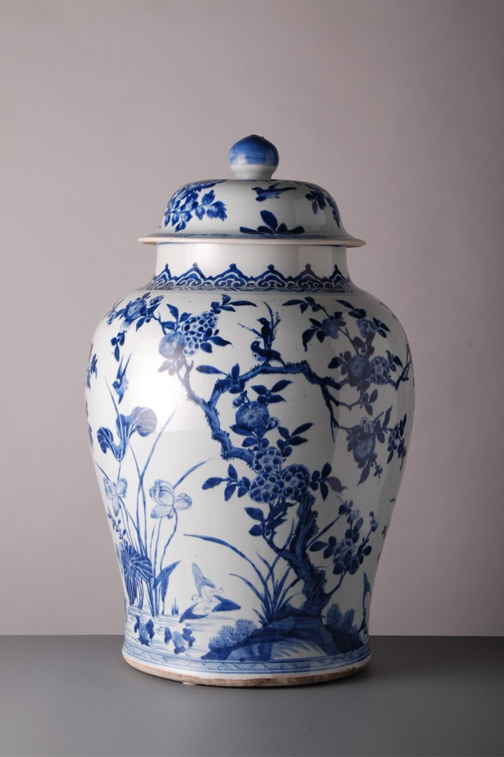 Jar and Cover - Kangxi period