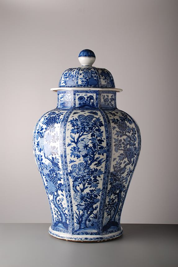 102. Blue & White Jar and Cover | MasterArt