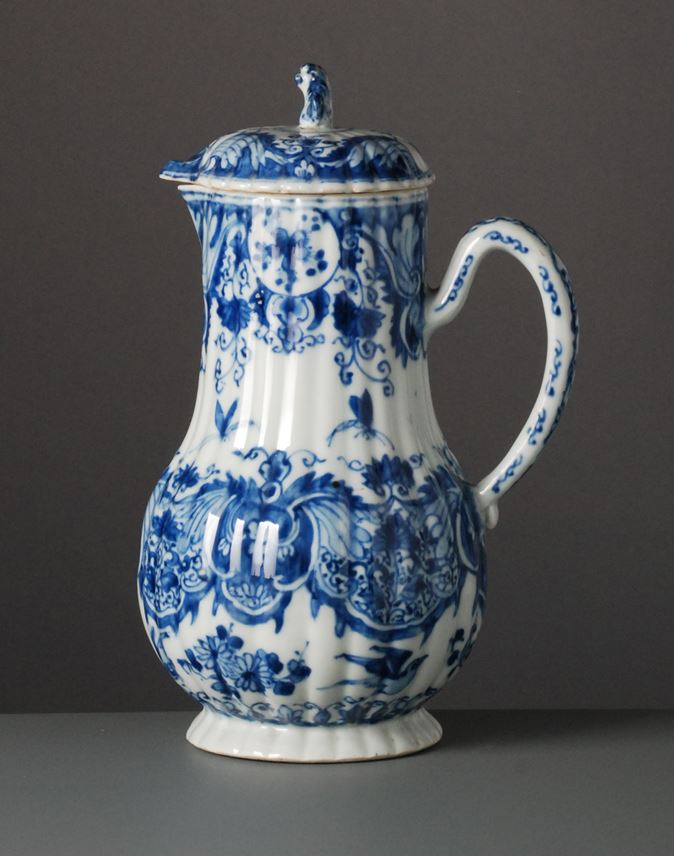 Blue & White Ewer with Cover | MasterArt