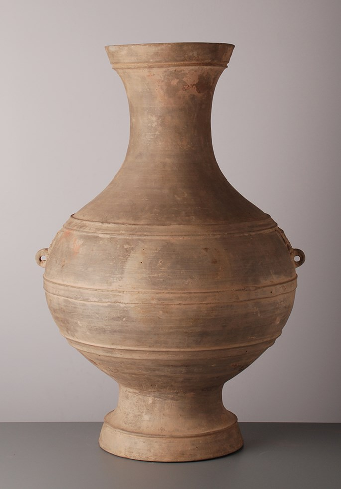 Large Pair Terracotta Vases | MasterArt