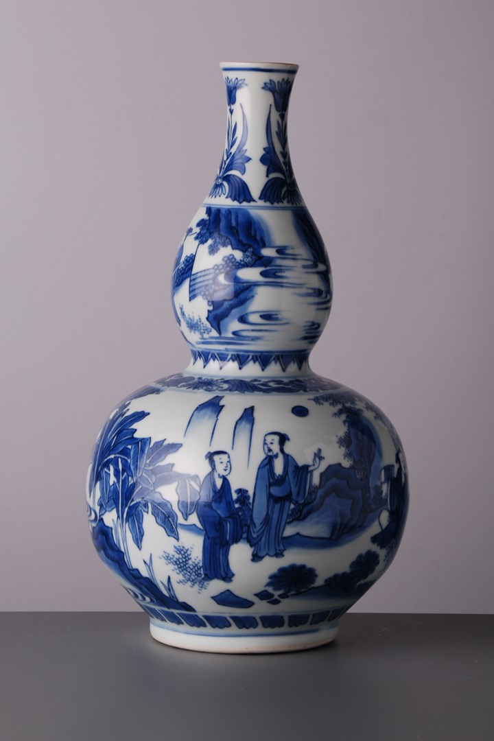 26. Double Gourde Bottle Vase