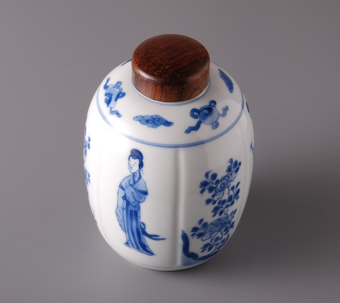 44. Jar with wooden cover | MasterArt