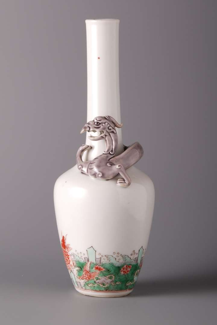 Bottle with Mythical Animal