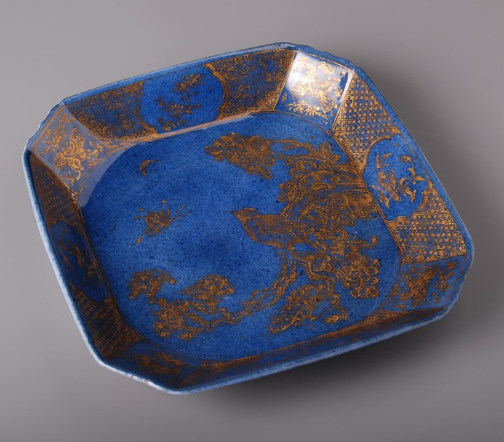 Powder Blue Square Dish