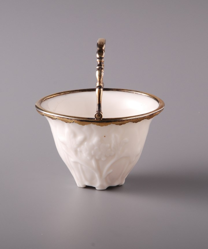 Cup with silver mounts
