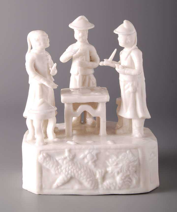 Group Of Chinese Figures