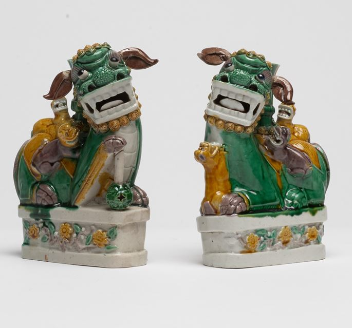 Pair of Fo Dogs | MasterArt