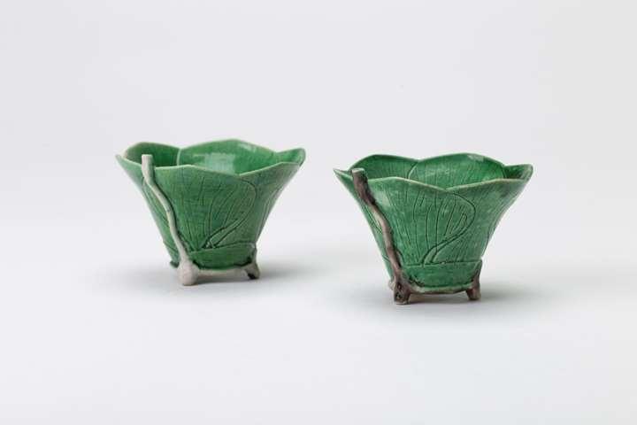 Pair of Lotus Cups
