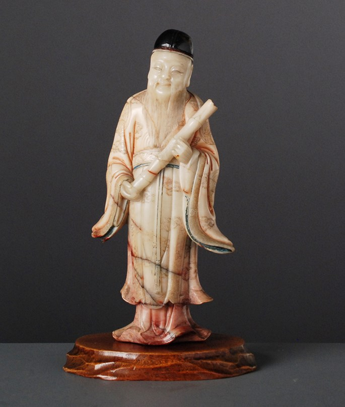Soapstone Figure of an Immortal | MasterArt