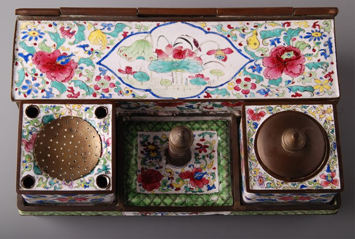 Canton Enamel Writing Set