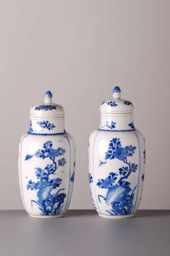Pair of Jars and Covers