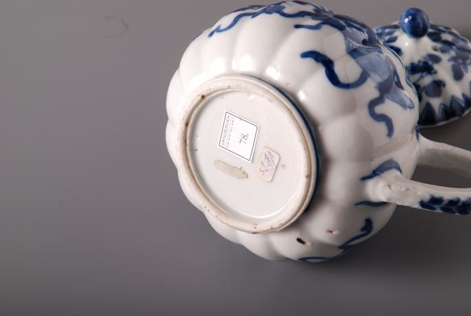 78. Blue White Tea Pot with cover | MasterArt