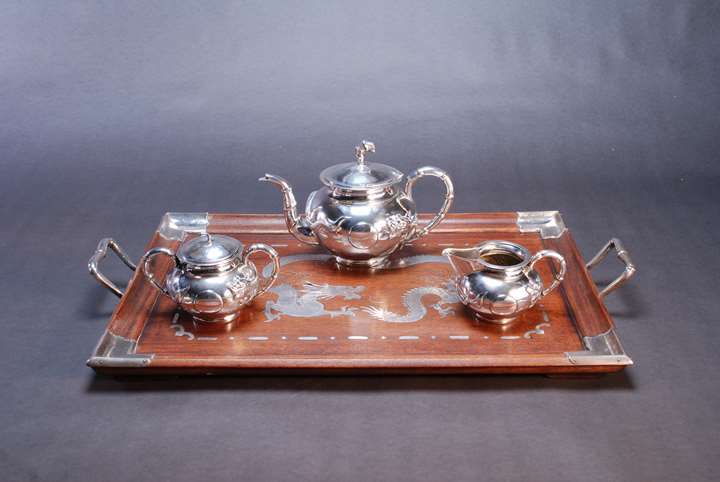 812. Chinese Export Silver Tea Service