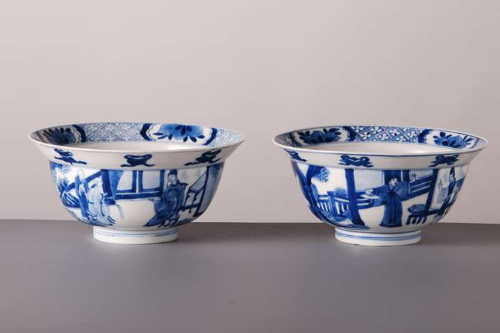 Pair of Klapmuts Bowls