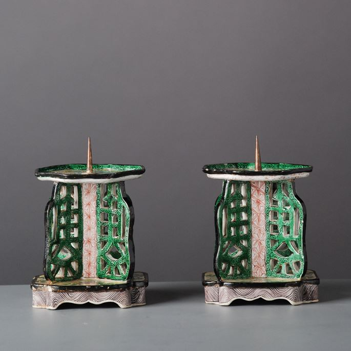 Pair of Candle Sticks | MasterArt