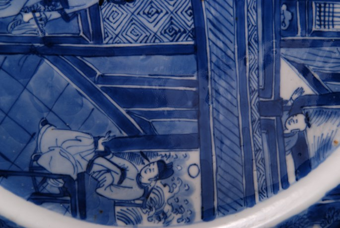 Pair of Blue and White Plates - Kangxi period | MasterArt
