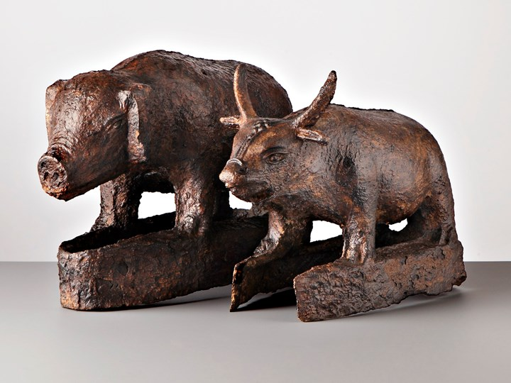 Cast Iron Ox