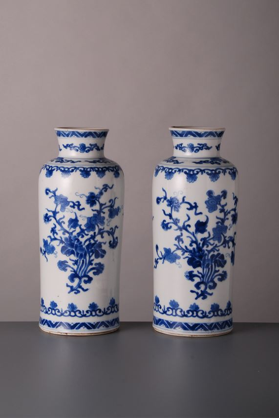 Pair of Vases - Kangxi period | MasterArt