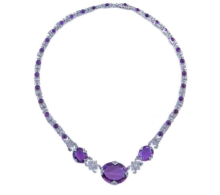 """Belle époque"" necklace"