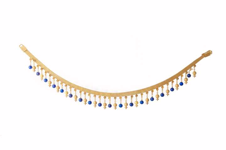 Necklace in archaeological style