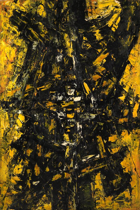 Frank Avray WILSON - Configuration in Yellow and Black | MasterArt