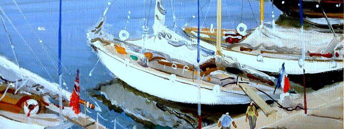 Gabriel Deschamps - The Harbour, Cannes | MasterArt