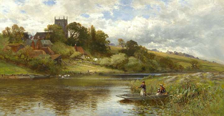 Belaugh on the Bure, Norfolk