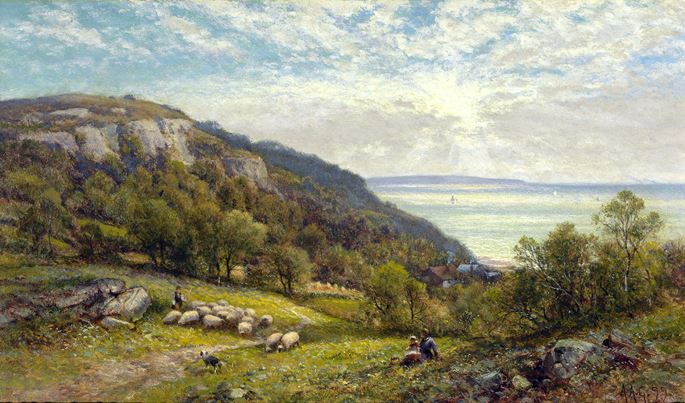 Alfred Augustus Glendening - Fairlight Glen near Hastings | MasterArt