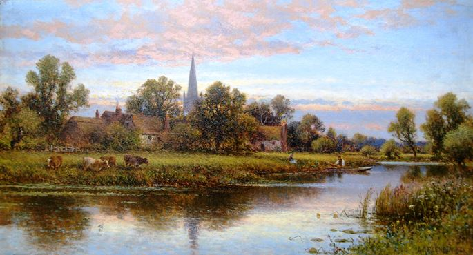 Alfred Augustus Glendening -  Hemingford on the Ouse | MasterArt
