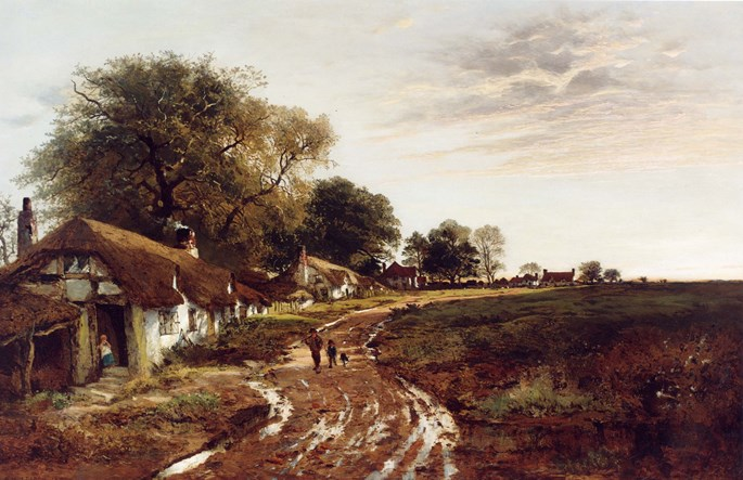 Benjamin Williams Leader - Sunshine After Rain | MasterArt