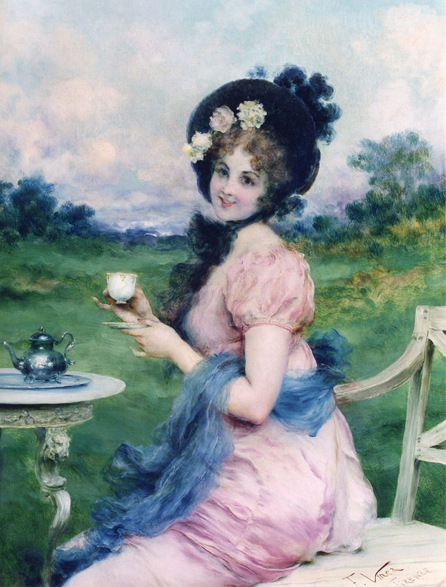 Francesco Vinea - Afternoon Tea | MasterArt