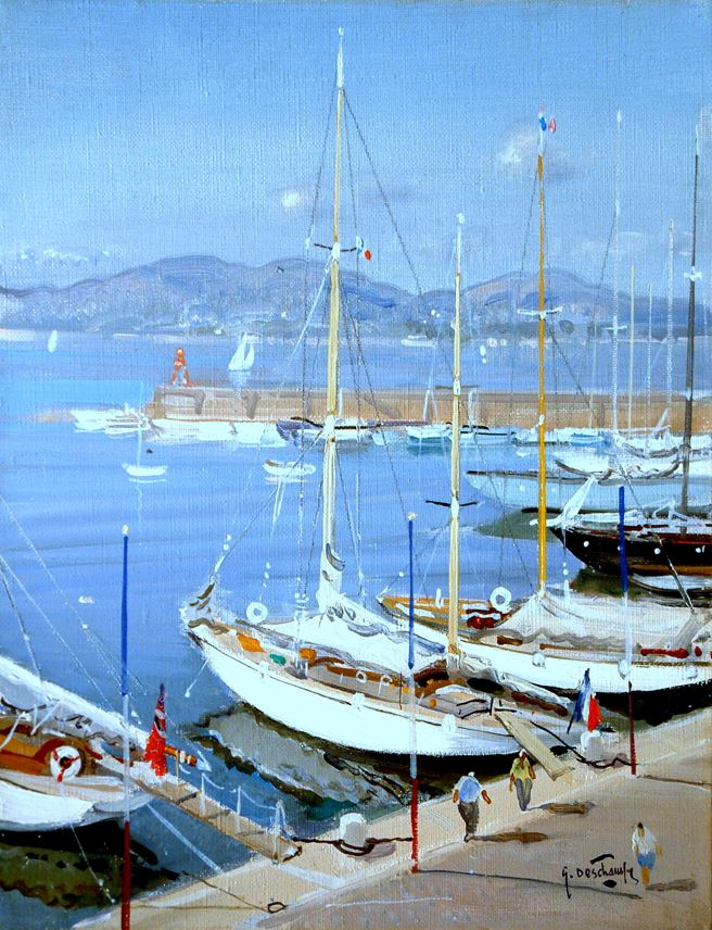 Gabriel Deschamps - The Harbour, Cannes | MasterArt