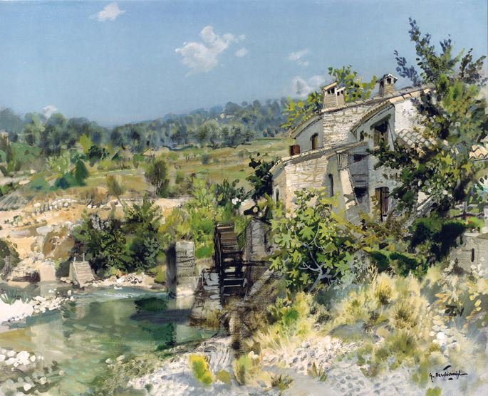 Gabriel Deschamps - Vieux Moulin | MasterArt