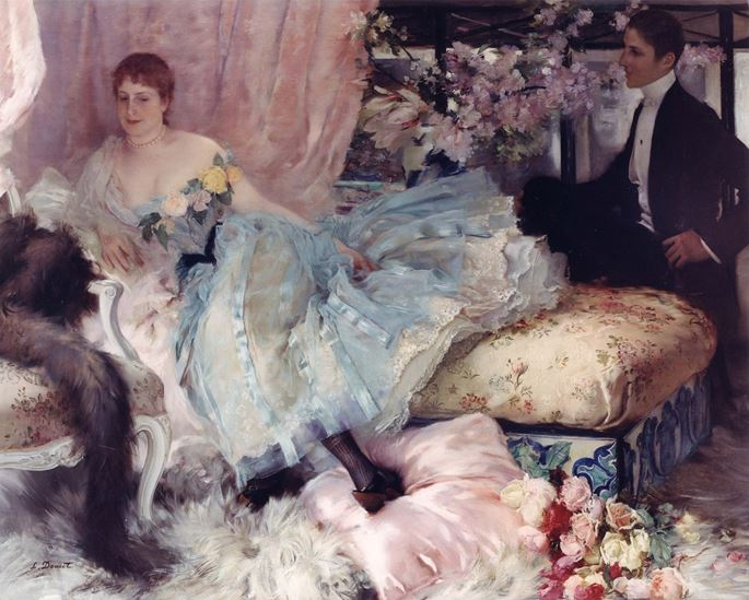 Henri-Lucien Doucet - After the Ball | MasterArt